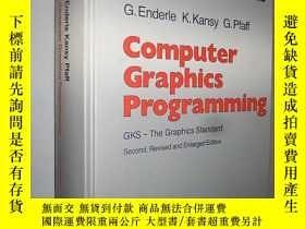 二手書博民逛書店Computer罕見Graphics Programming: