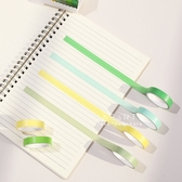純色DIY黏貼手寫紙膠帶 6入裝 膠帶 裝飾美勞用具