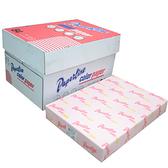【奇奇文具】PAPER LINE 140 / 80P / B4 玫瑰紅影印紙 (500張/包)