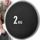 SANDBELL重訓2公斤沙鈴.沙袋2KG啞鈴片沙包.沙盤沙碟沙球砂球.重力舉重量訓練.運動用品健身器材