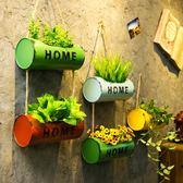 奶茶店咖啡廳酒吧墻面裝飾品 工業風掛件餐廳墻壁墻上植物壁掛        瑪奇哈朵