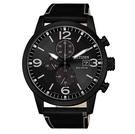 CITIZEN 星辰 光動能 計時黑殼手錶 CA0617-29E _43mm
