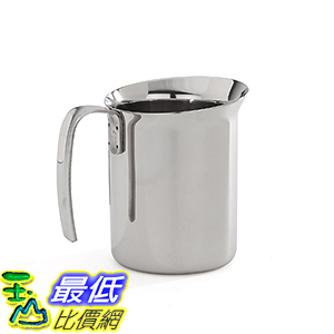 [106美國直購] Bialetti 06728 打奶泡杯 Frother Pitcher, Stainless Steel, 16-oz