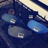 男士胸包港風純色簡約男士胸包街頭潮流死飛腰包防水運動健身斜背包騎行包