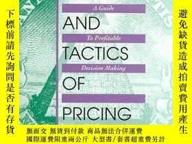二手書博民逛書店The罕見Strategy And Tactics Of Pricing: A Guide To Profitab