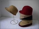 紳士帽 秋冬女款羊毛呢子休閑帽子復古小禮帽爵士帽時裝帽氈帽盆帽 快速發貨
