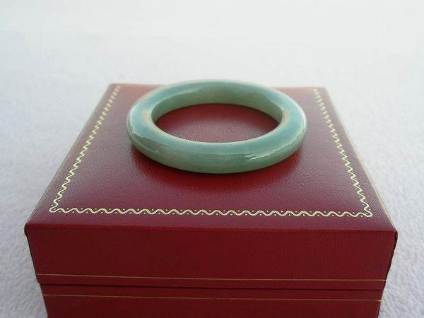 【歡喜心珠寶】【天然緬甸冰種翡翠圓骨手鐲】小手圍13圍「A貨附保証書」小女生戴平安手環玉鐲