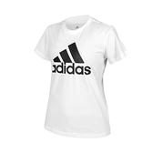 ADIDAS 女短袖T恤(亞規 純棉 休閒 慢跑 上衣 愛迪達≡體院≡ GL0649
