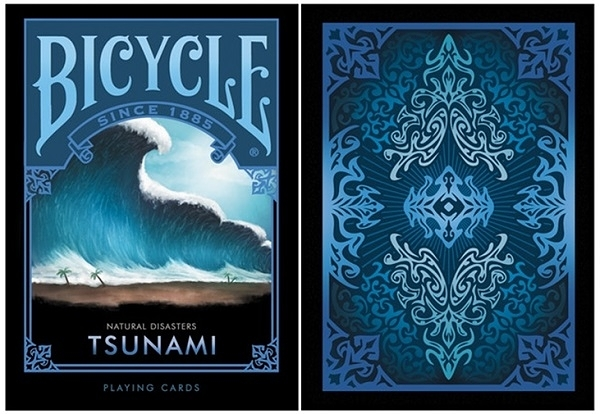【USPCC 撲克】BICYCLE ND Tsunami PLAYING CARDS natural disasters