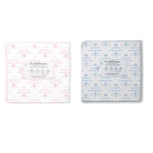 包巾/嬰兒包巾 美國 Swaddle Designs - 法蘭棉絨多用途嬰兒包巾 歐風貴族 #SD-414P