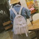 後背包 背包學院風百搭簡約蝴蝶結雙肩包 ...