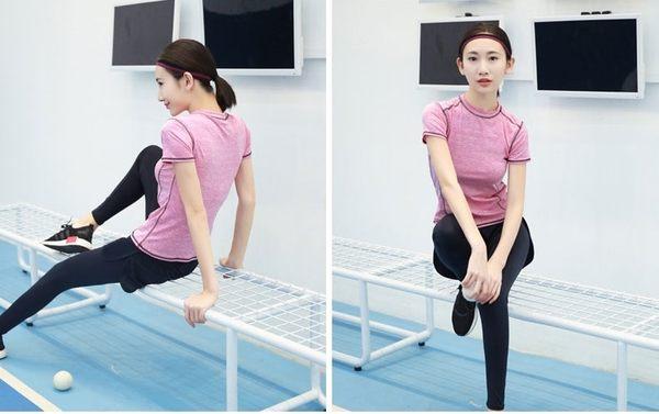 瑜伽服上衣長袖健身服速幹薄款瑜珈服女套裝夏季跑步服顯瘦運動服  - xby0042