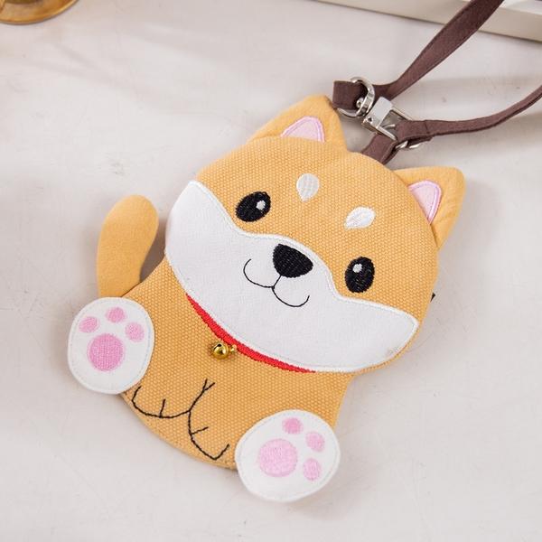 Kiro貓‧柴犬寶寶 直式卡套 識別證套/行李吊牌【820190】