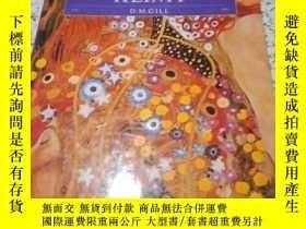 二手書博民逛書店DISCOVERING罕見ART; KLIMT【大16開原版精裝彩印】Y18570 如圖 如圖 出版1996