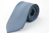 【Alpaca】亮灰色斜紋領帶