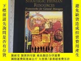 二手書博民逛書店Strategic罕見Human Resources James N. Baron David M. Kreps