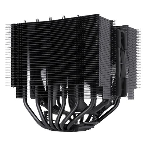 Noctua 貓頭鷹 NH-D15S chromax.black 黑化 非對稱雙塔六導管靜音 CPU散熱器