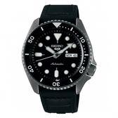SEIKO 5 sport運動潮流機械腕錶/黑色皮帶4R36-07G0X(SRPD65K3)