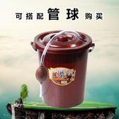 茶道零配茶盤配件茶水桶茶渣桶排水桶雜物桶垃圾桶塑料茶桶排水管zg【全館滿一元八五折】