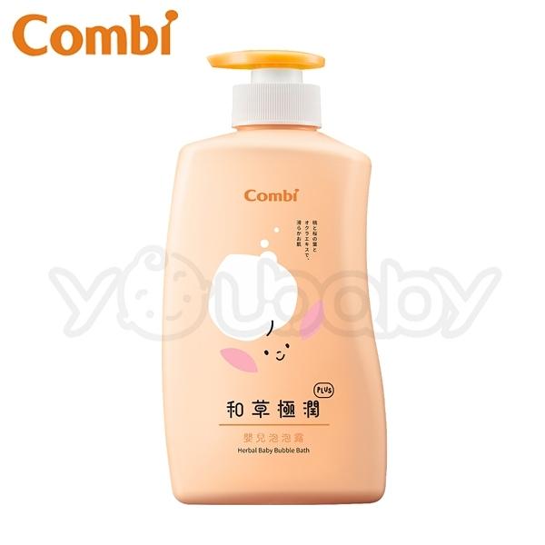 康貝 Combi 和草極潤嬰兒泡泡露 plus 500ml