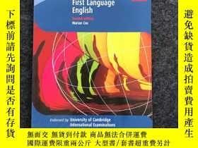 二手書博民逛書店IGCSE罕見First Language English(Second edition) IGCSE第一語言英語