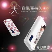 行動電源-20000毫安大容量可愛萌移動電源便攜卡通手機通用蘋果沖電-奇幻樂園
