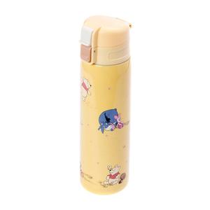 HOLA 迪士尼系列維尼超輕量保溫瓶500ml-黃