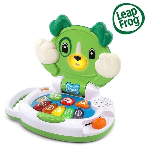LeapFrog 跳跳蛙 My Peek-a-Boo LapPup 躲貓貓筆電小狗-Scout[衛立兒生活館]