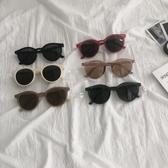 網紅墨鏡女ins2019新款韓版潮太陽眼鏡復古港風搞怪可愛圓臉街拍