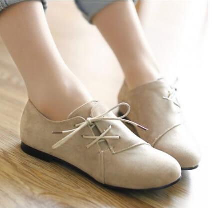 牛津鞋 休閒鞋 尖頭鞋 女鞋 包鞋 平底鞋  *27小舖【現貨】