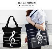 【小麥老師 樂器館】 【A73】 音符手提袋 手提袋 手提包 側背包 可裝A4 TB01