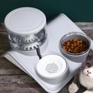 貓咪飲水機流動不插電狗狗不濕嘴水碗喂食寵物喝水水盆