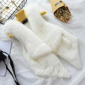 仿狐貍毛馬甲 無袖百搭顯瘦時尚毛外套