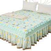 (萬聖節)蕾絲布藝床裙床罩 花邊公主床笠席夢思保護套 新品