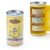 〔小禮堂〕布丁狗 飲料罐造型紙膠帶組《3入.黃藍》15mmx5m.置物罐.裝飾貼.黏貼用品 4901610-70688