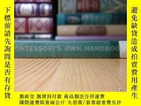二手書博民逛書店蒙臺梭利手冊罕見A Montessori Handbook; Dr. Montessori s Own Hand