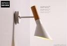 INPHIC- 北歐臥室陽臺壁燈床頭燈現代簡約客廳創意過道牆燈led鐵藝鏡前燈-I款_S197C