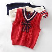 兒童毛衣馬甲童裝秋裝新款兒童馬甲男童背心女寶針織衫