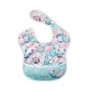 Baby City娃娃城 迪士尼 收納式防水圍兜 (小飛象青) 232元