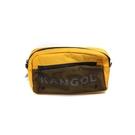KANGOL 腰包 方包 黃色 6125178260 noC72