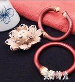 西藏野生雞血藤無節有節手鐲男女款純天然情侶手鏈送禮物禮品女友TT389『美好時光』