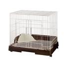 寵物家族-日本GEX-智能設計兔籠(70...