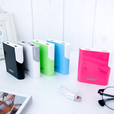 HANG時尚簡約亮面10400mAh雙USB行動電源 超大容量款 快速充電 I6 NOTE4 S5 S4 HTC M8 SONY