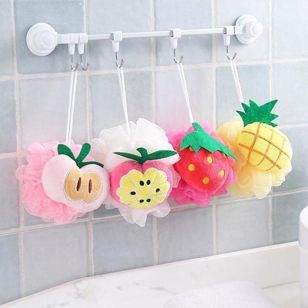 水果造型洗澡沐浴球浴花浴球沐浴柔軟大號起泡球浴擦去角質搓澡巾·享家