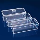 多層水晶首飾收納盒 桌面小物品收納盒 透明化妝盒《小師妹》jk86