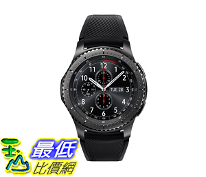 [107美國直購] Samsung Gear S3 Frontier Smartwatch (Bluetooth) SM-R760NDAAXAR US Version