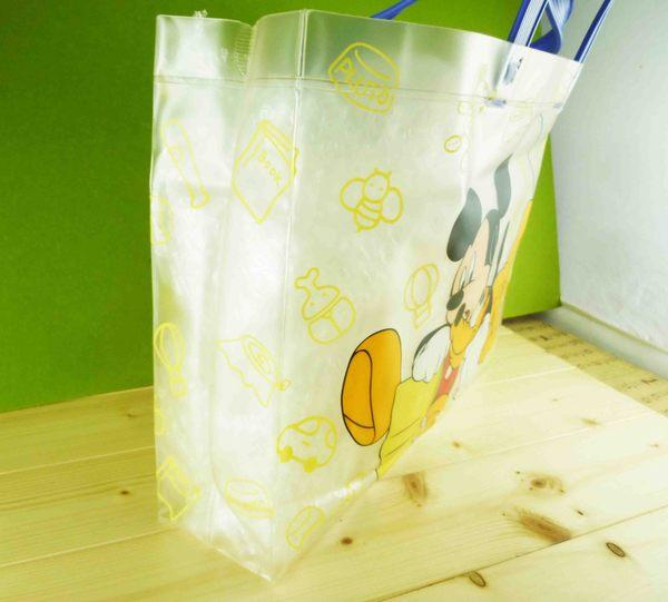 【震撼精品百貨】Micky Mouse_米奇/米妮 ~透明袋-藍布魯托