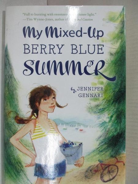 【書寶二手書T1/原文小說_AW3】My Mixed-up Berry Blue Summer_Gennari, Jennifer
