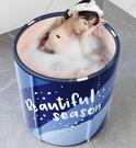 泡澡桶 折疊大人家用全身浴桶成人浴缸洗澡盆泡澡神器兒童洗澡桶TW【快速出貨八折鉅惠】