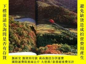 二手書博民逛書店Railroad罕見scenery of the four seasons in Japan book train